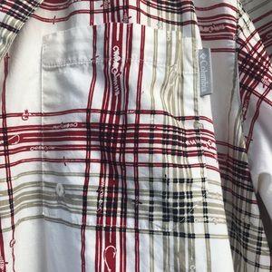 Columbia Plaid Men's Shirt XL